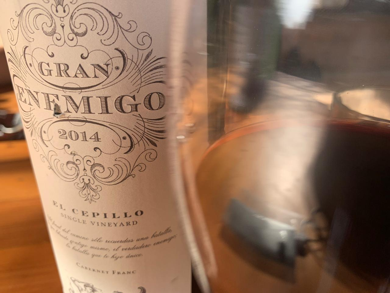 gran enemigo single vineyard el cepillo cabernet franc 2014